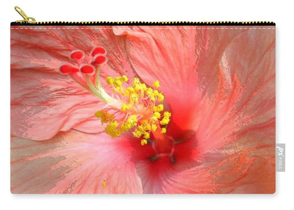 Hibiscus Central Carry-all Pouch