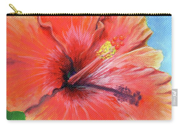 Hibiscus Passion Carry-all Pouch