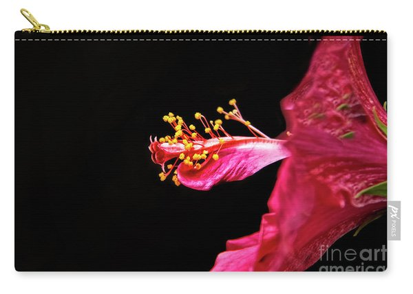 Hibiscus Stamens Carry-all Pouch