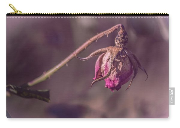 Carry-all Pouch featuring the photograph Hidden Beauty by Allin Sorenson