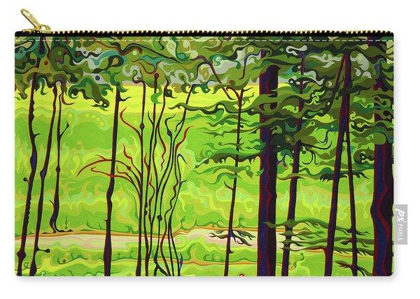 Hidden Beyond The Green Carry-all Pouch