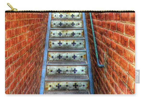 Hidden Stairway In Old Bisbee Arizona Carry-all Pouch