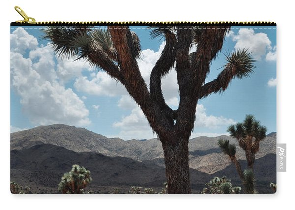 Hidden Valley Joshua Tree Portrait Carry-all Pouch