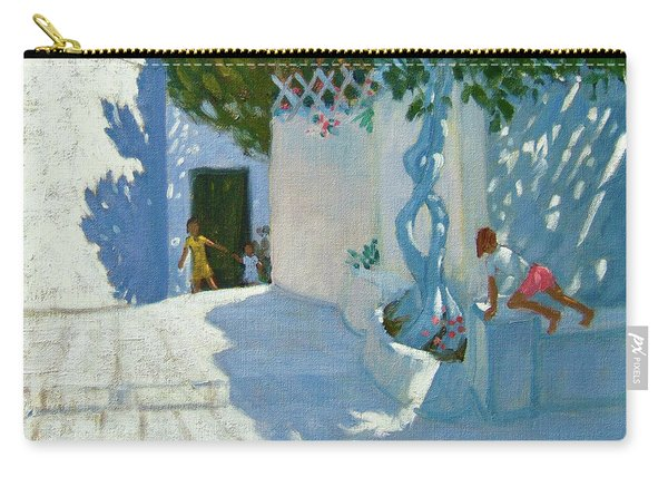 Hide And Seek, Mykonos Carry-all Pouch