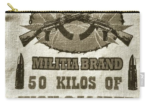 High Caliber Marijuana Old Style Carry-all Pouch
