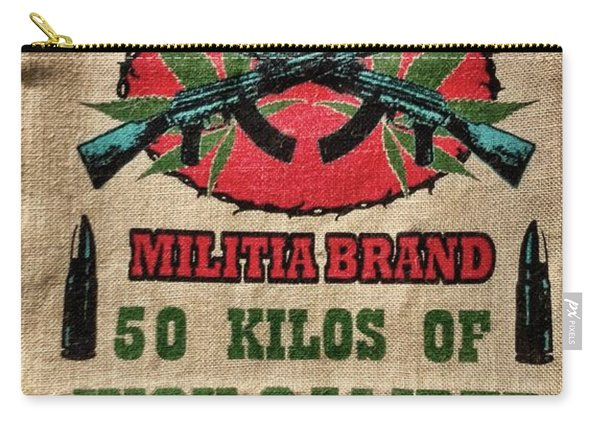 High Caliber Marijuana  Carry-all Pouch
