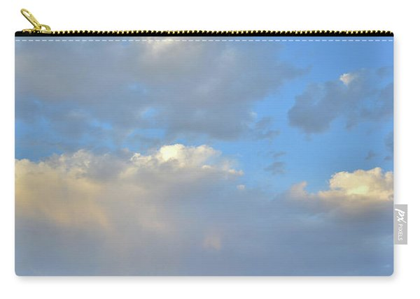 High Clouds Over Caineville Wash Carry-all Pouch
