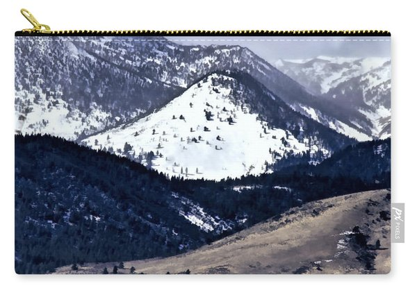 High Country Snow Storm Carry-all Pouch
