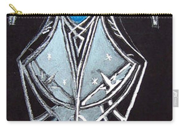 Carry-all Pouch featuring the painting High Elven Warrior Shield  by Richard Le Page