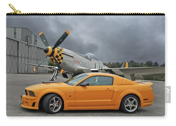 High Flyers - Mustang And P51 Carry-all Pouch