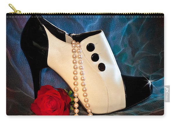High Heel Spat Bootie Shoe Carry-all Pouch