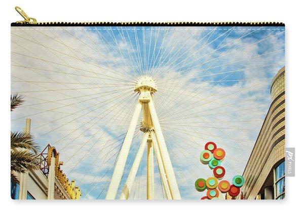 High Roller Wheel, Las Vegas Carry-all Pouch