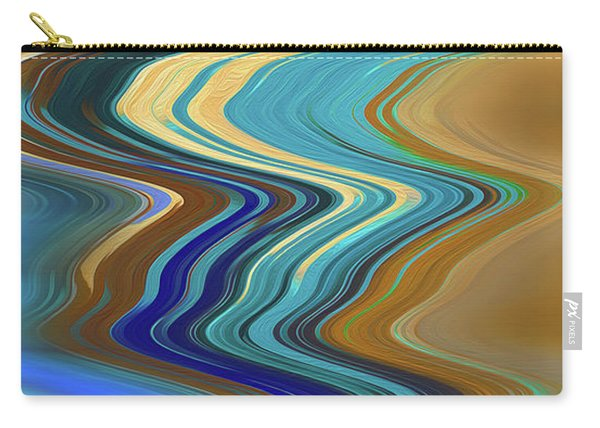 Carry-all Pouch featuring the digital art High Tide by Gina Harrison