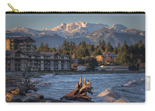 High Tide In The Bay Carry-all Pouch