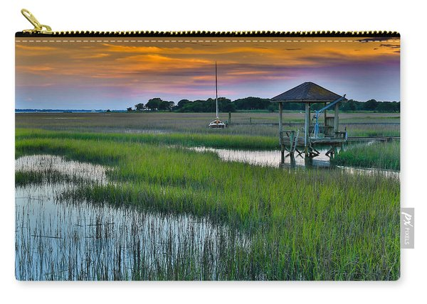 High Tide On The Creek - Mt. Pleasant Sc Carry-all Pouch