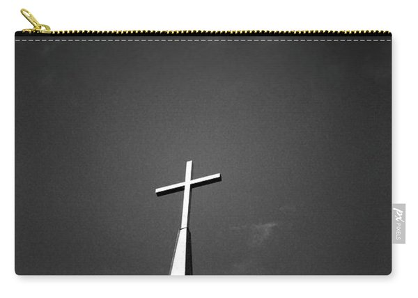 Higher To Heaven - Black And White Photography By Linda Woods Carry-all Pouch