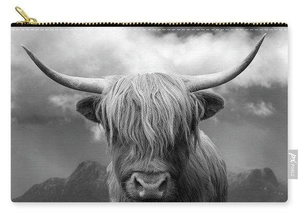 Highland Cow - Ben Loyal Carry-all Pouch