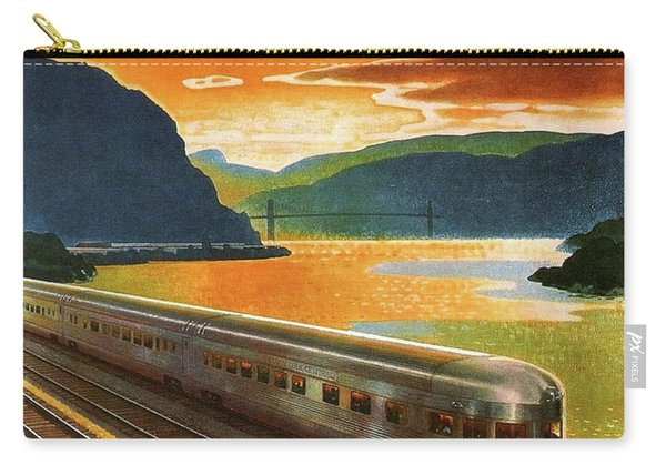 Highlands Of Hudson, Railway, Train Carry-all Pouch