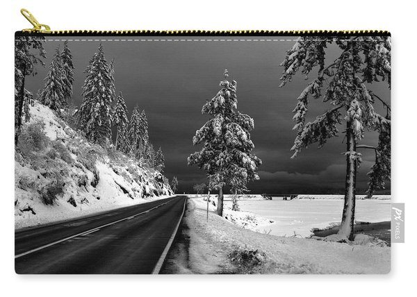 Highway 200 Near Hope Carry-all Pouch