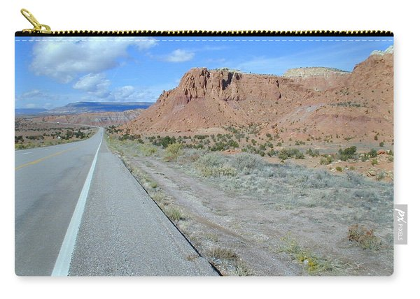 Carry-all Pouch featuring the photograph Highyway To The Clouds Number 1 by Joseph R Luciano