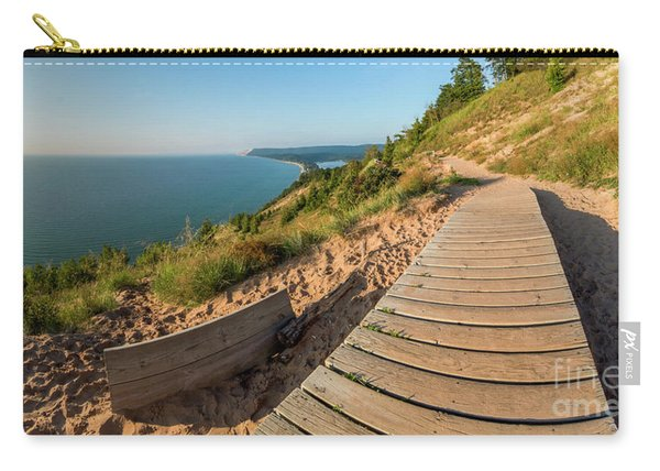Hike Along Empire Bluff Carry-all Pouch