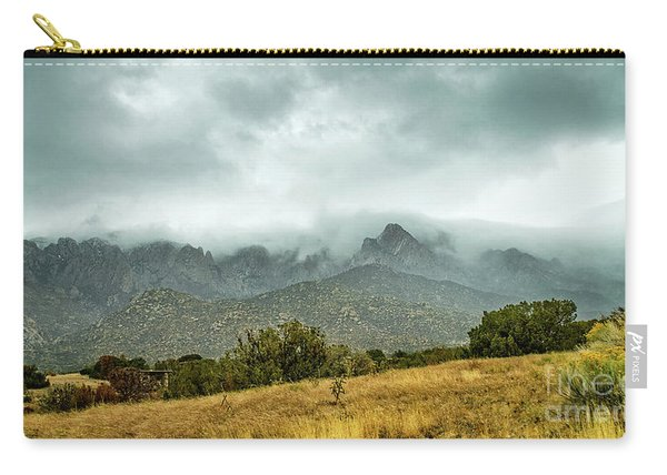 Carry-all Pouch featuring the photograph Hike Before The Storm by Susan Warren