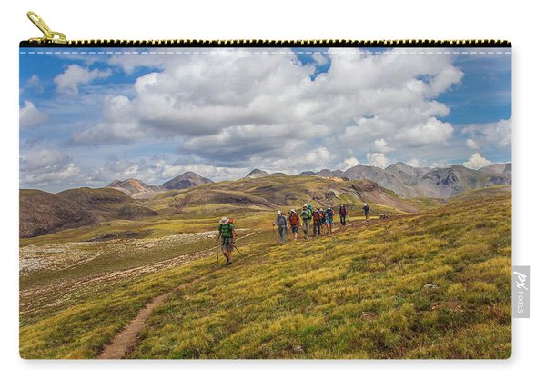 Hiking At 13,000 Feet Carry-all Pouch