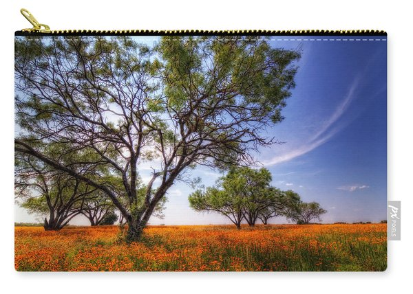 Hill Country Spring Carry-all Pouch