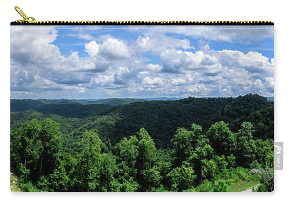 Hills And Clouds Carry-all Pouch