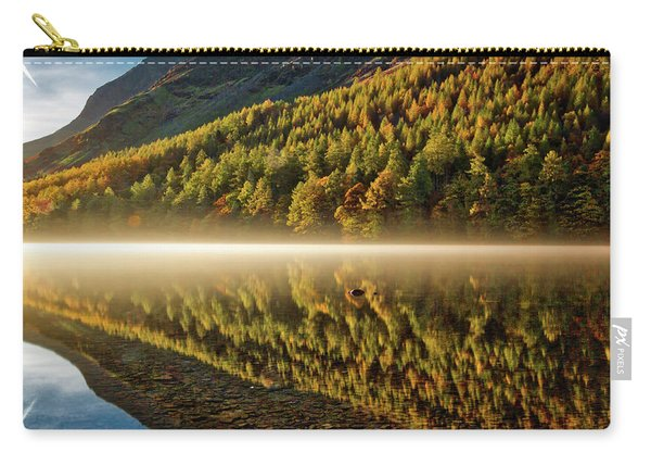 Hills In The Mist Carry-all Pouch