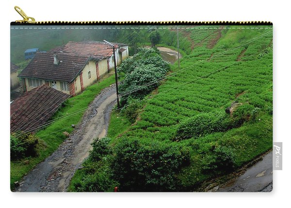 Hillside Dwellings Near Coonoor, India Carry-all Pouch
