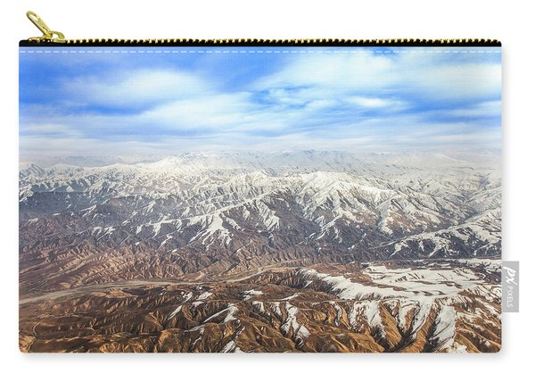 Hindu Kush Snowy Peaks Carry-all Pouch