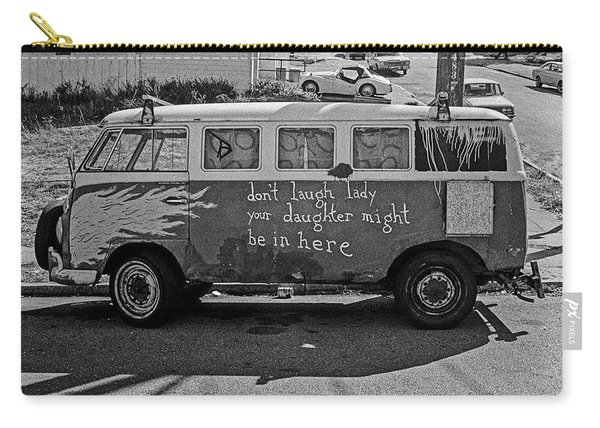 Hippie Van, San Francisco 1970's Carry-all Pouch