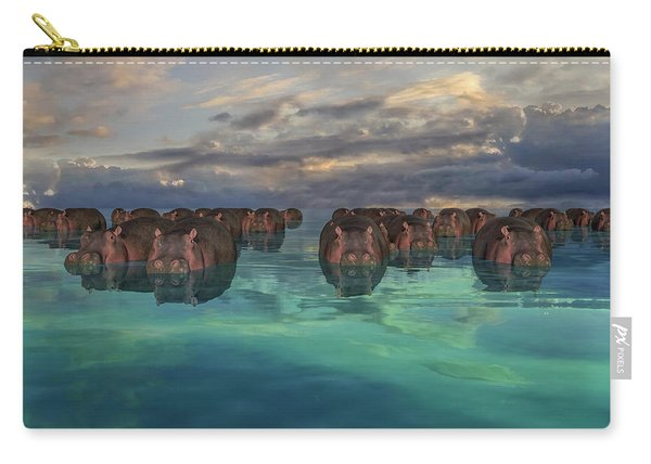 Hippos Carry-all Pouch