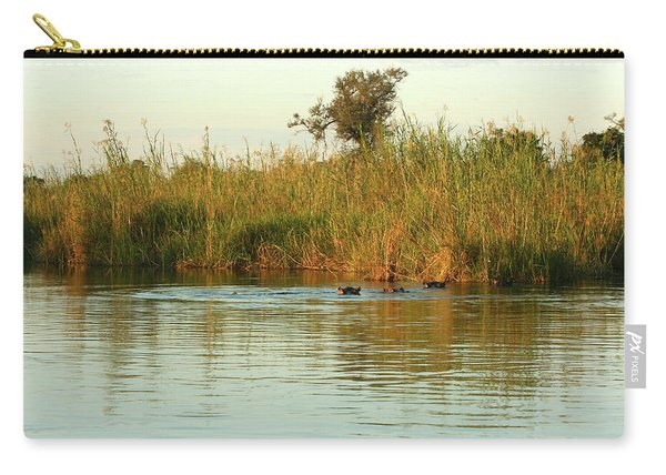 Hippos, South Africa Carry-all Pouch