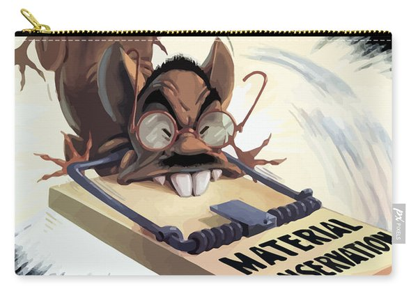 Hirohito As A Rat Carry-all Pouch