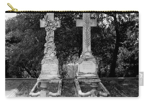 Carry-all Pouch featuring the photograph His And Hers by Michael Colgate