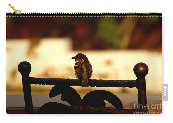 His Eye Is On The Sparrow Carry-all Pouch