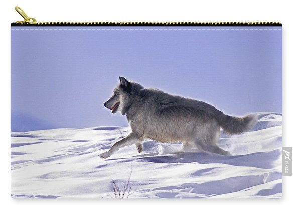 His Majesty Wolf 21m Carry-all Pouch
