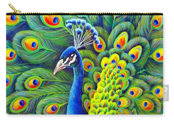 Carry-all Pouch featuring the painting His Splendor by Nancy Cupp