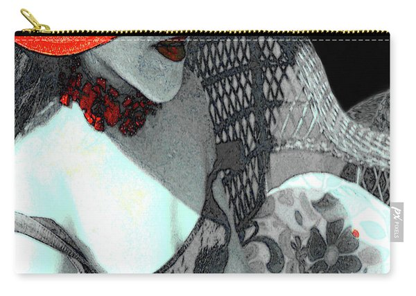 Abstract Woman Art 1 Carry-all Pouch