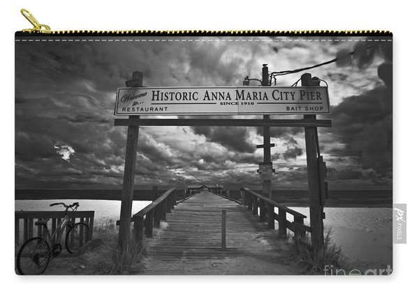 Historic Anna Maria City Pier 9177436 Carry-all Pouch