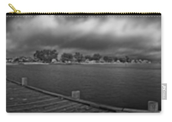 Historic Anna Maria City Pier In Infrared Carry-all Pouch