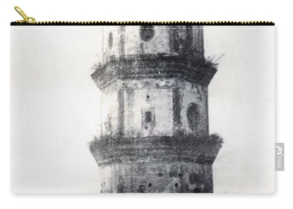 Historic Asian Tower Building Carry-all Pouch