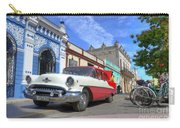 Historic Camaguey Cuba Prints The Cars Carry-all Pouch