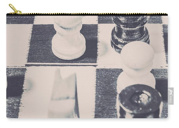 Historic Chess Nostalgia Carry-all Pouch