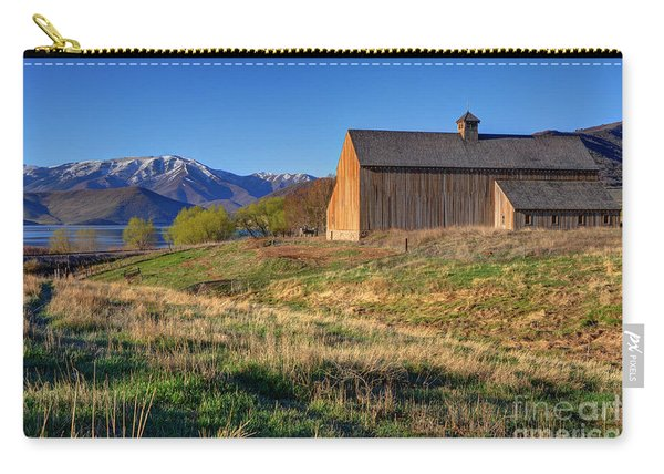 Historic Francis Tate Barn - Wasatch Mountains Carry-all Pouch