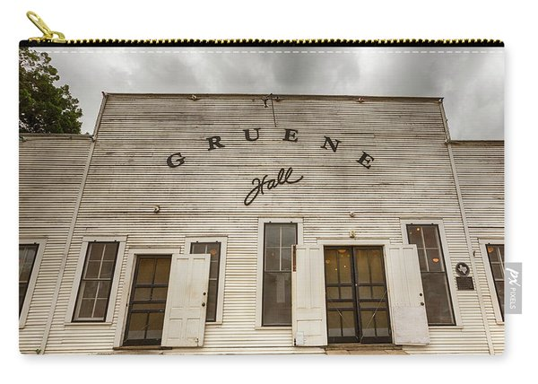 Historic Gruene Hall Carry-all Pouch