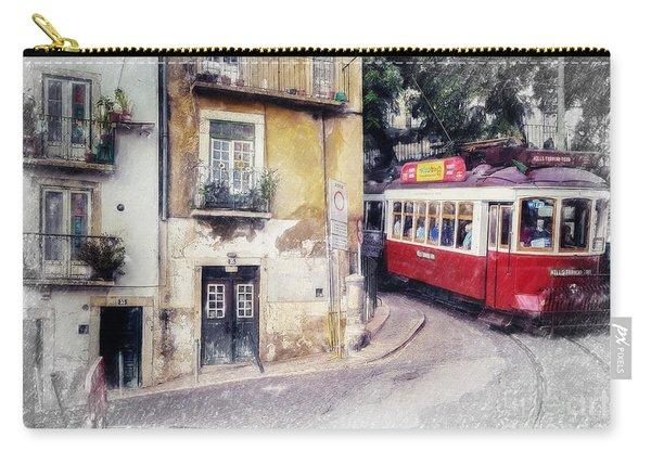 Historic Lisbon Tram Carry-all Pouch