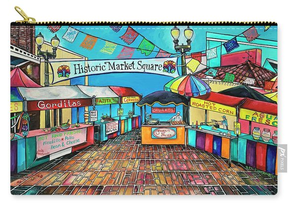 Historic Market Square Carry-all Pouch